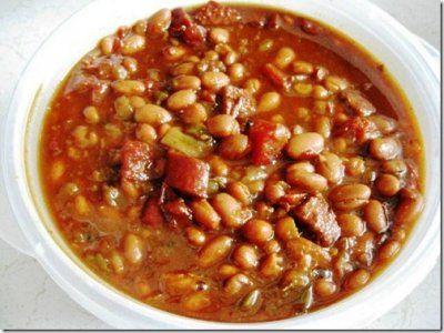 Slow Cooked Chipotle Beer Baked Beans (Danica's Daily)