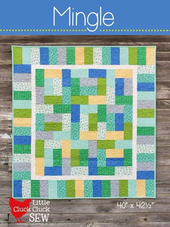 Baby Size Quilt Little Quilts Pinterest