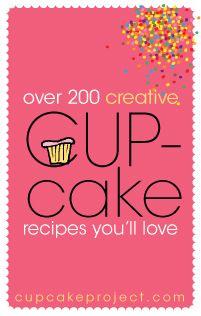 200 Cupcake Recipes ~ Cupcake Project