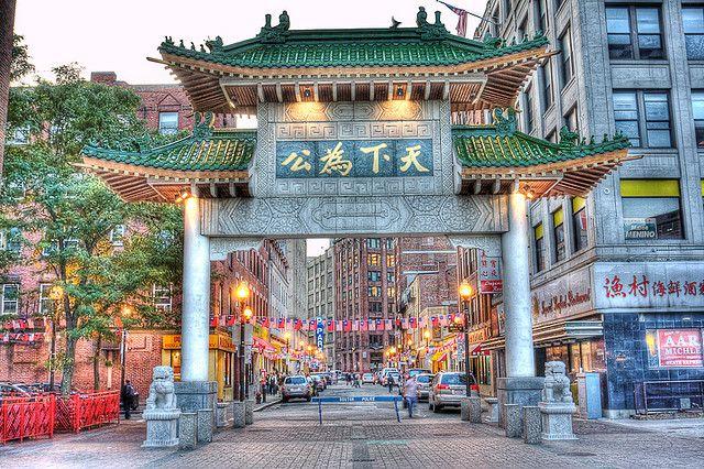Chinatown Arch, Boston MA  I
