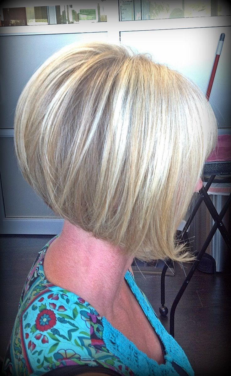 Inverted Bob Hairstyles Back View Inverted wedge haircut