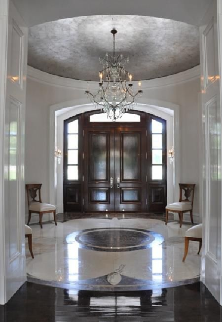 Foyer ideas home pinterest for Front foyer designs