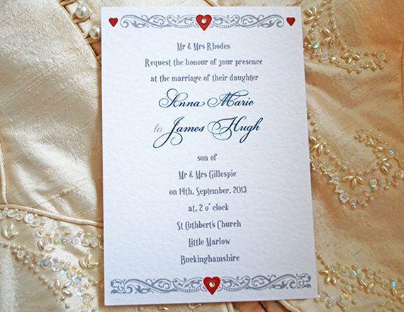 Etsy Wedding Invitation with awesome invitations layout