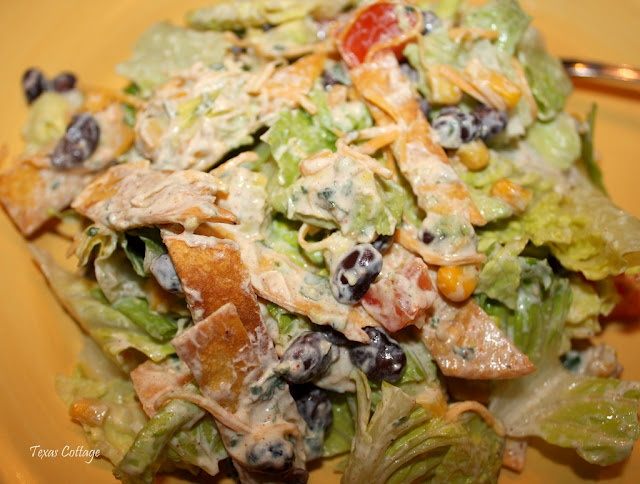 Southwestern Salad | Party in my tummy | Pinterest