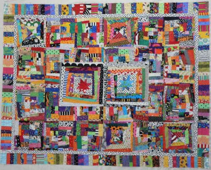 Star Log | My quilts and crafts | Pinterest