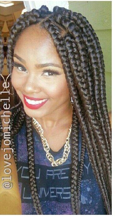 Jumbo Braids Hairstyles 0cacd02fe2385507701697bc41b5be ...