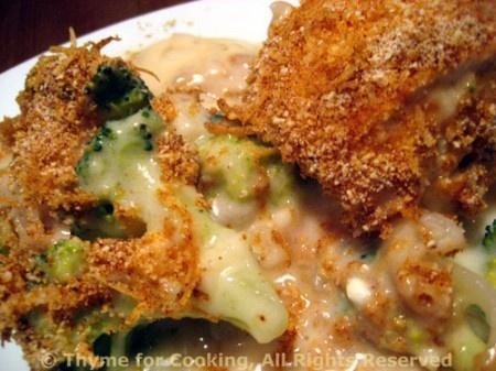 Chicken Divan, lightened up | food & drink | Pinterest