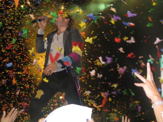 I would love to go to a Coldplay concert