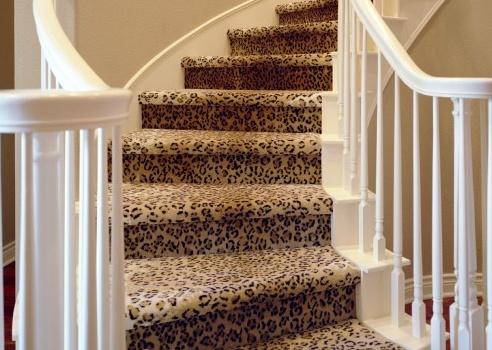 animal print stair runner - Google Search