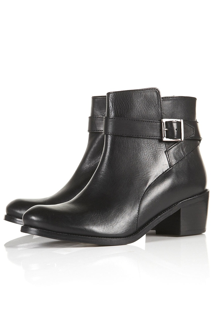 action buckle booties