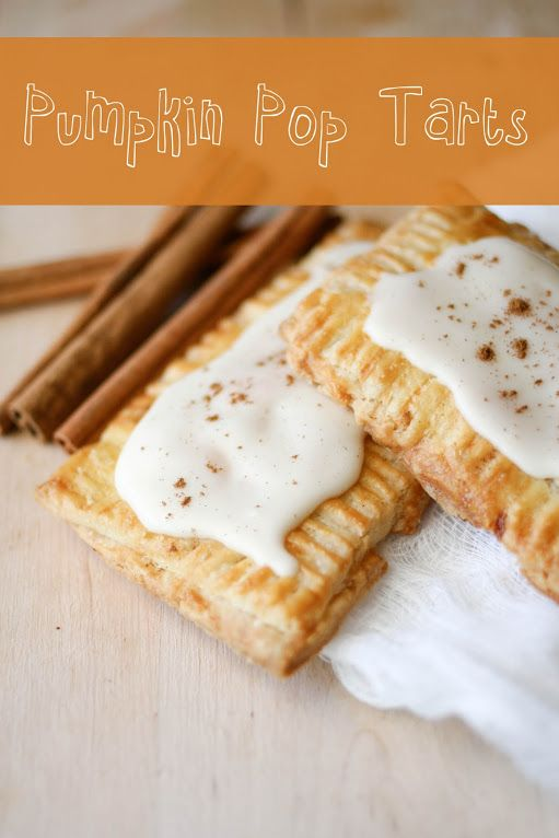Pumpkin Pie Pop Tarts With Maple Glaze Recipes — Dishmaps