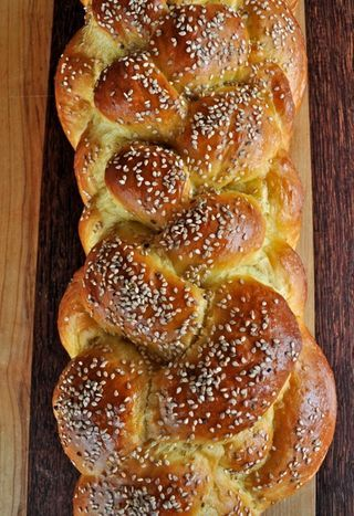 A Six-Strand Braided Challah Recipes — Dishmaps