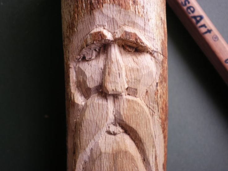 wood spirit carving tutorial woodcarving pinterest