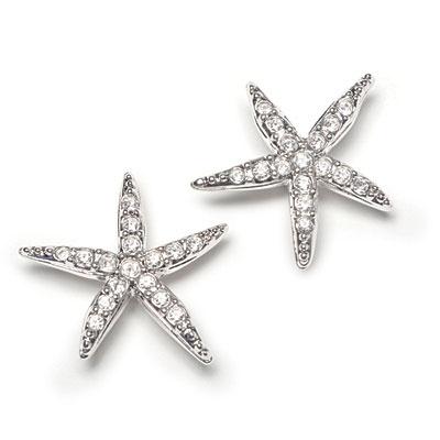 Holly Starfish Pierced Earrings, $70