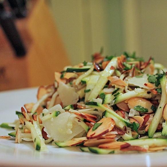 Zucchini Carpaccio - Super easy, and super delicious, tastes just like ...