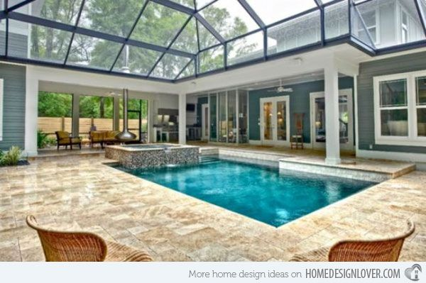 20 Amazing Indoor Swimming Pools For The Home Pinterest