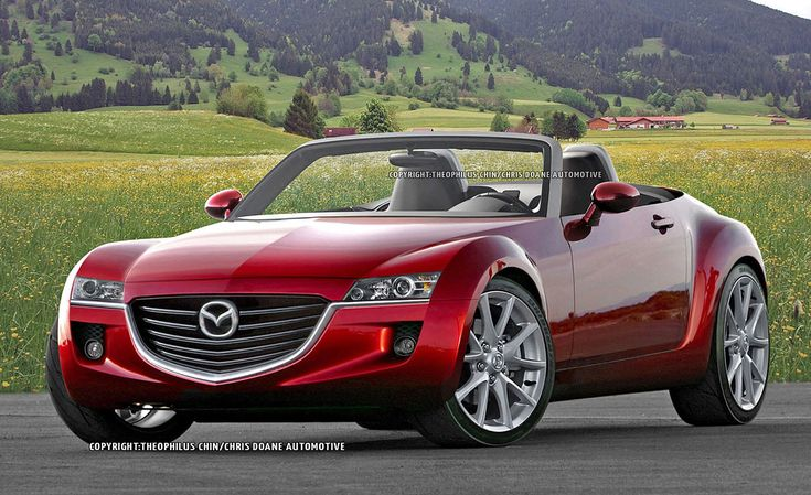 2014 Mazda MX-5 Miata and Alfa Romeo Spyder First Illustration and