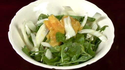Fennel, Orange and Arugula Salad | Salads | Pinterest
