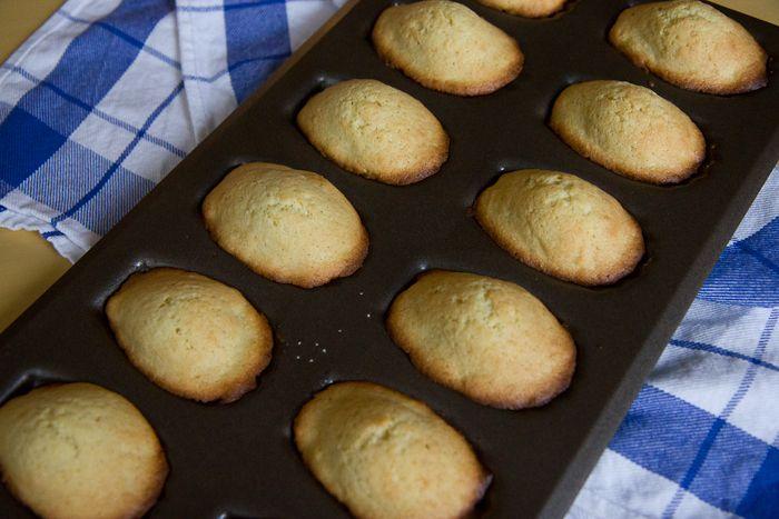 Lemon & Vanilla Bean Madeleines I The Yellow Table