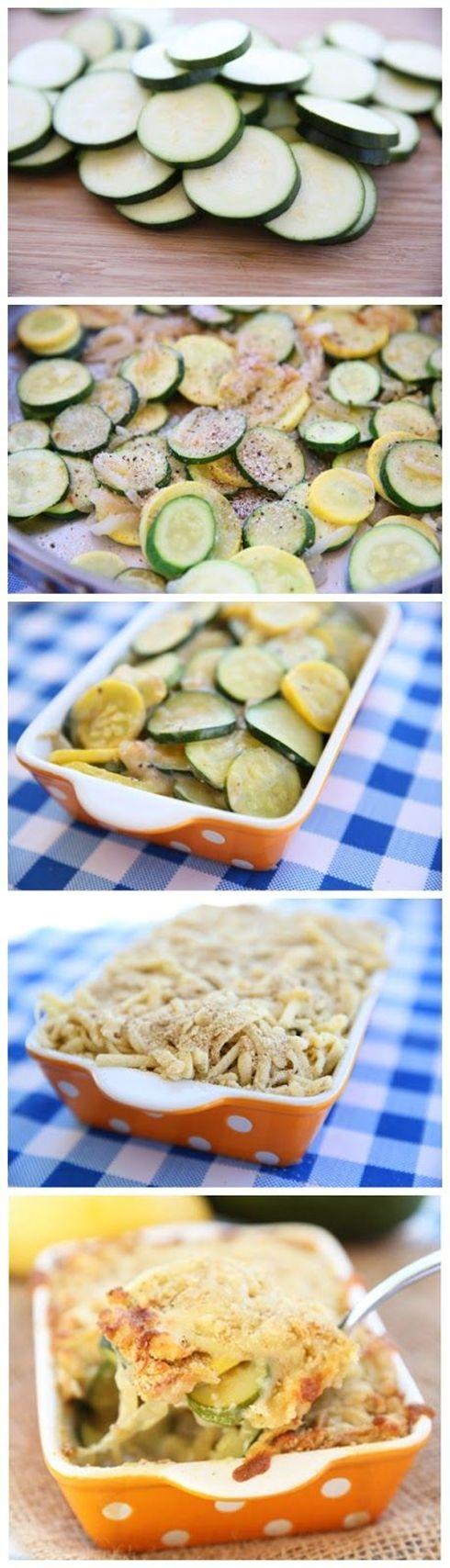 Zucchini Gratin | recipes | Pinterest