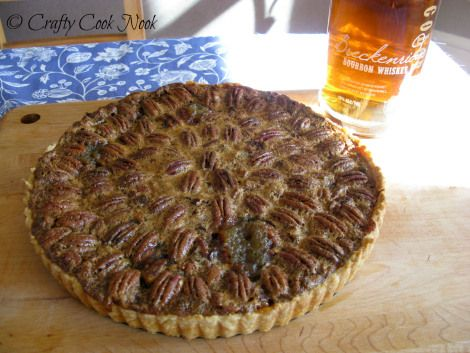 Pecan and Chocolate Tart with Breckenridge Bourbon Whipped Crème ...