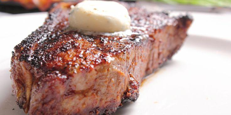 Strip Steak from Delmonico Steakhouse