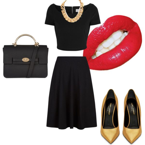 """Monochrome 1"" by brainstylist on Polyvore"