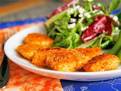 Seasoned Baked Chicken Nuggets | Recipe