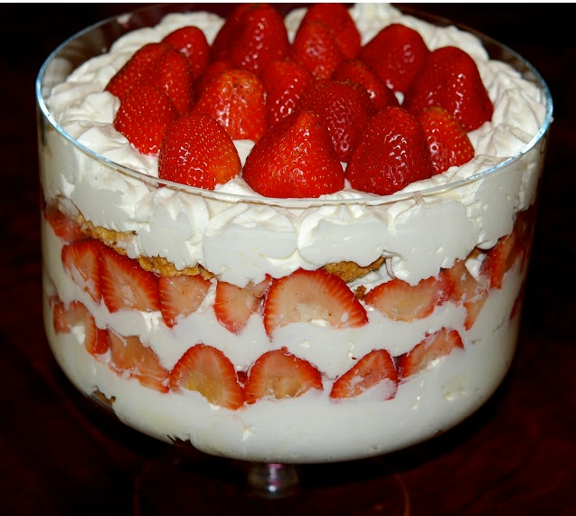 STRAWBERRY ♥ SHORTCAKE ♥ TRIFLE ♥ | Favorite Recipes | Pinterest ...