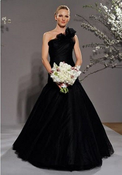 Black Wedding Dress Vestits De N Via Pinterest