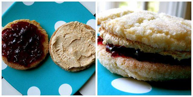 PB & J Sandwich Cookies | Cookies | Pinterest