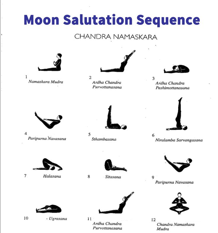 Moon Salutation Printable   New Calendar Template Site