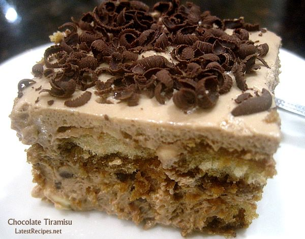 Chocolate Tiramisu | Indulge | Pinterest