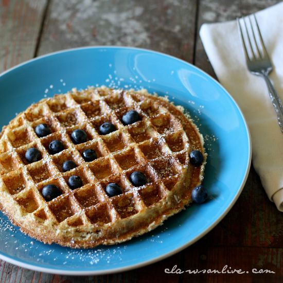 ... than just smoothies. Here's an example: Quinoa Protein Power Waffle