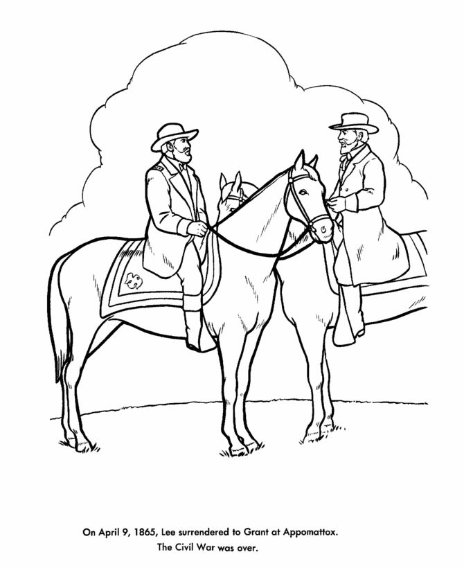us reconstruction coloring pages - photo#9