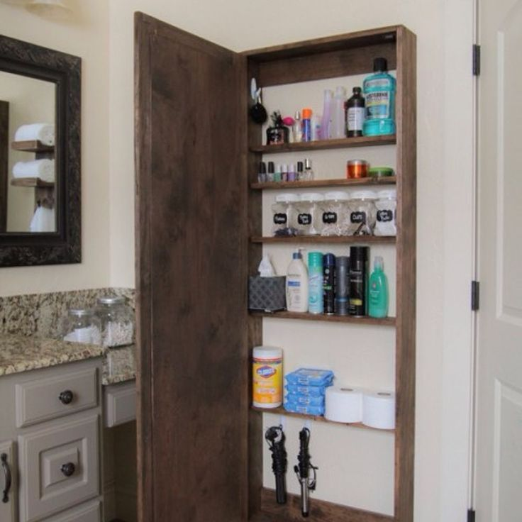 super functional ab diy bathroom storage cabinet
