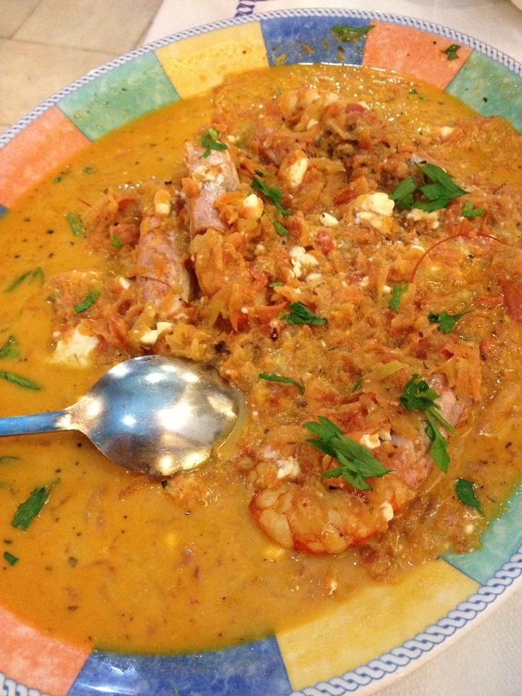 Shrimp Saganaki | Man vs food | Pinterest