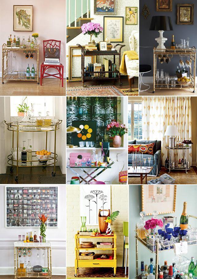 Bar Cart Decorating Ideas Ideas 2 Diy Pinterest