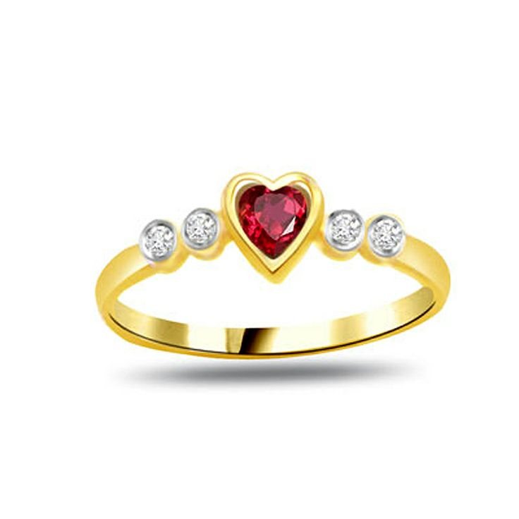 valentine diamond rings