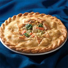 Deep-Dish Chicken Pot Pie | Food: Main Dishes | Pinterest