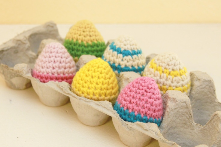 Get crackin on your Easter decor with these Free Egg Crochet Pattern ...