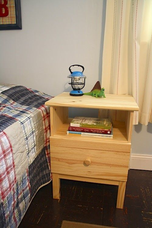 Ikea Mandal Bed With Storage ~ On the Doorstep Ikea Tarva nightstands  On the Doorstep  Pinterest