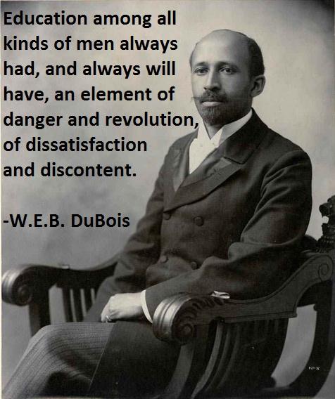 Web dubois quotes