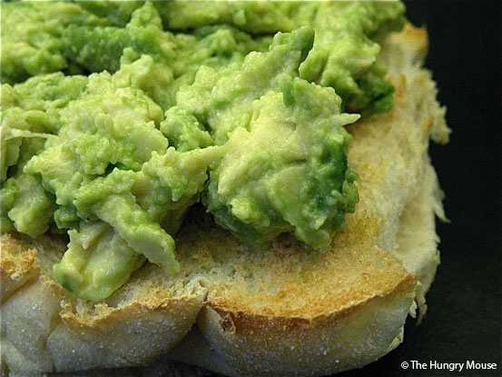 Spiced avocado open faced sandwich | Food and Drink | Pinterest
