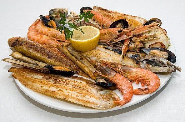 Parrillada de marisco recetas pinterest for Canelones de pescado y marisco