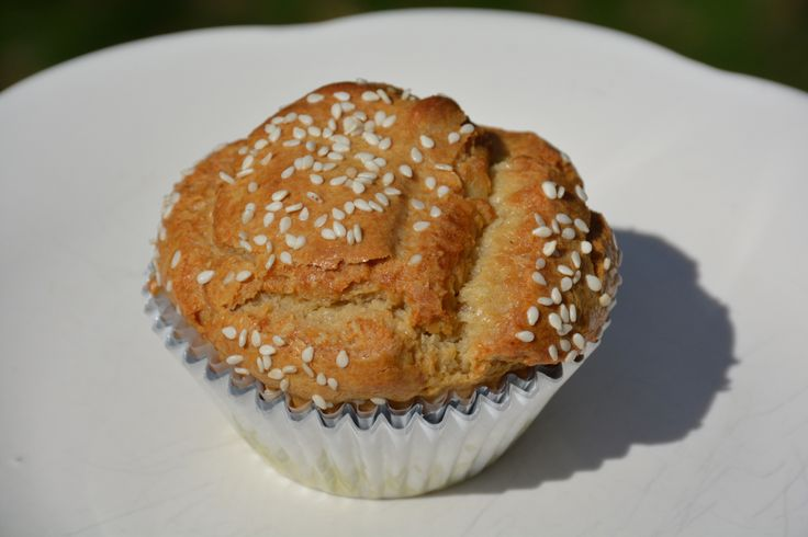 Tahini Muffins | food | healthy muffins and breads | Pinterest