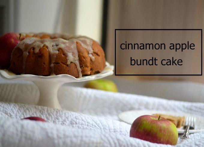 Apple-Cinnamon Bundt Cake Recipe — Dishmaps