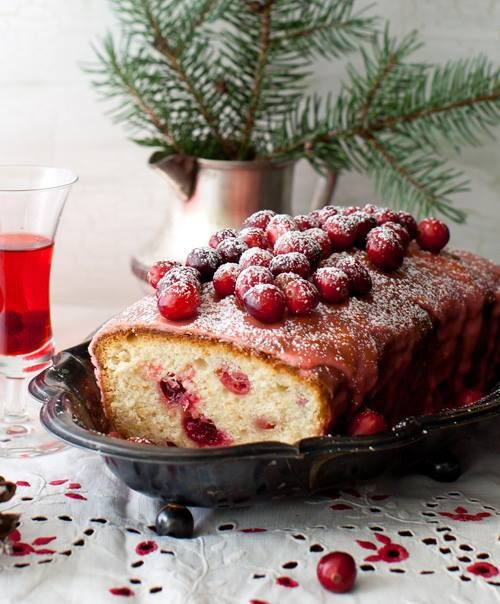 Cranberry cake | Food inspirations | Pinterest