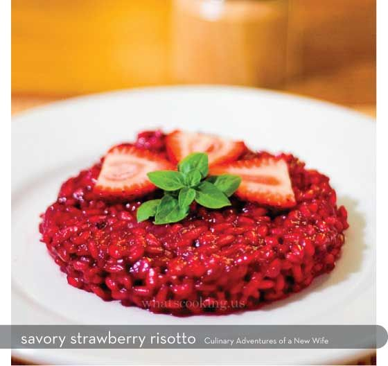 Savory strawberry risotto | Food | Pinterest