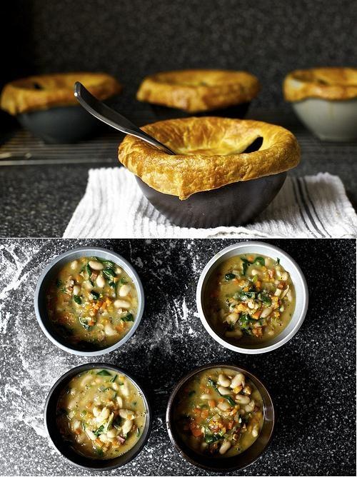 Pancetta, White Bean and Chard Pot Pies | Garden Goodies Recipes | Pi ...